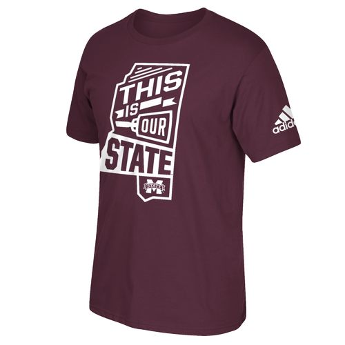 adidas™ Men's Mississippi State University Local T-shirt