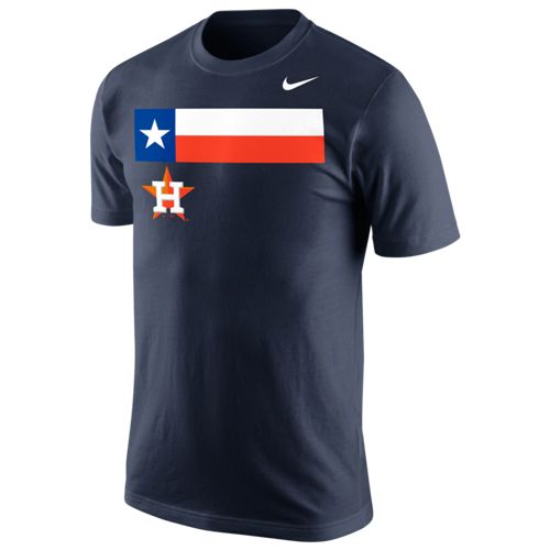 Nike™ Men's Houston Astros My City My Team State Flag T-shirt