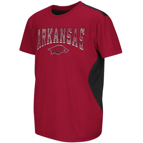 Colosseum Athletics™ Boys' University of Arkansas Short Sleeve
