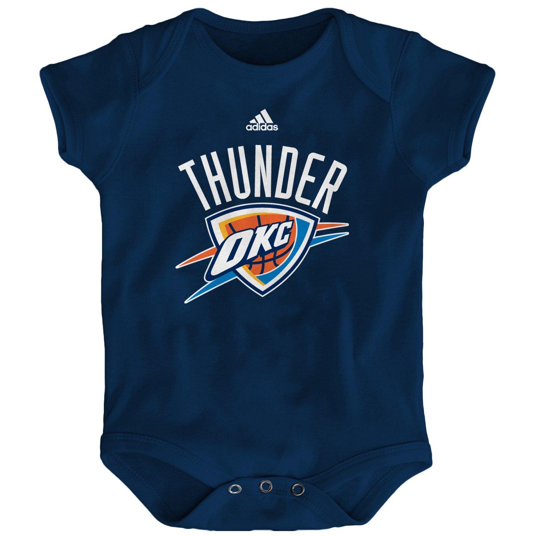 adidas™ Infants' Oklahoma City Thunder Logo Creeper