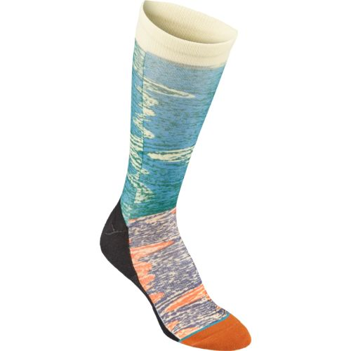 Stance Men's Dwyane Wade Collection Warp Basketball Crew Socks