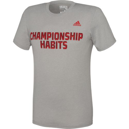 adidas™ Men's Championship Habits T-shirt