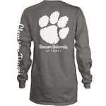 Three Squared Juniors' Clemson University Cynthia Pocketed Long Sleeve T-shirt