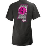 Three Squared Juniors' University of Southern Mississippi Moonface Vee T-shirt