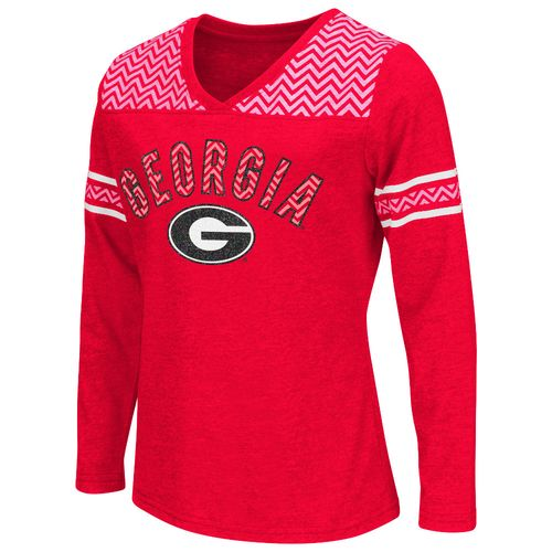 Colosseum Athletics™ Girls' University of Georgia Cupie Long Sleeve T-shirt