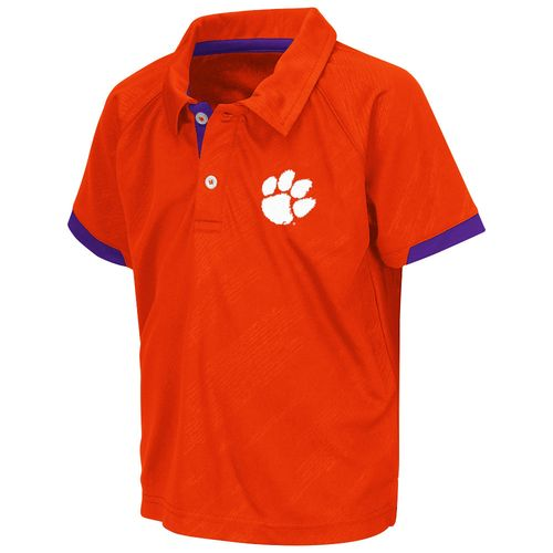 Colosseum Athletics™ Toddlers' Clemson University Spiral Polo Shirt