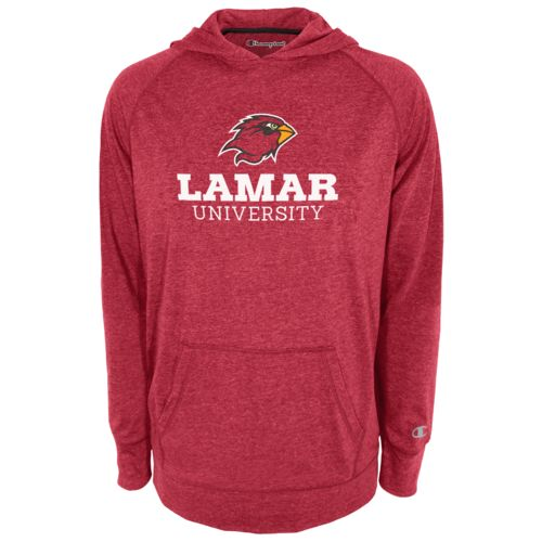 Champion™ Men's Lamar University Raglan Pullover Hoodie
