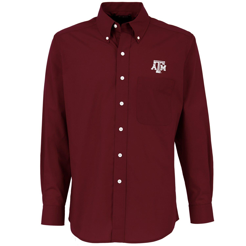 Antigua Men's Texas A&M University Dynasty Dress Shirt