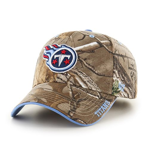 '47 Tennessee Titans Frost Realtree Camo MVP Cap - view number 1
