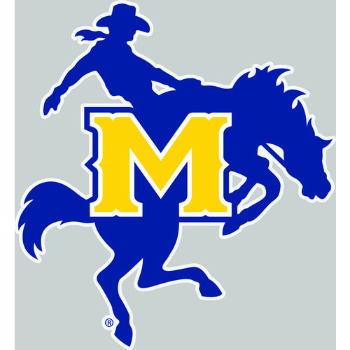"Stockdale McNeese State University 4"" x 5"" Decal"