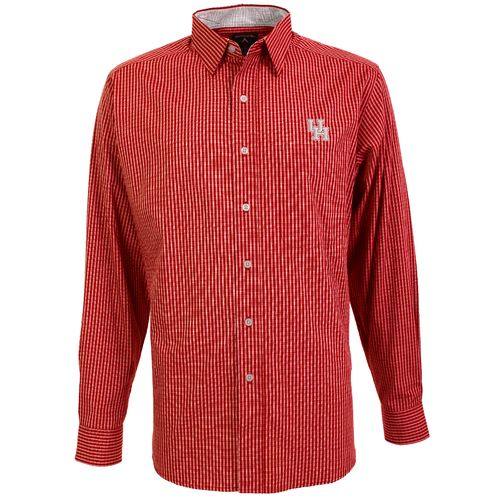Antigua Men's University of Houston Division Dress Shirt