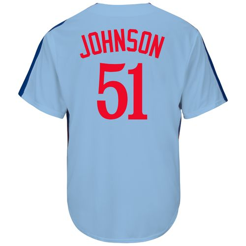 Majestic Men's Montreal Expos Randy Johnson #51 Cooperstown Cool Base Replica Jersey