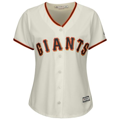 Majestic Women's San Francisco Giants Matt Cain #18 Authentic Cool Base Jersey - view number 3