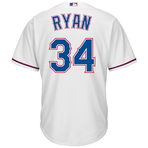 Majestic Men's Texas Rangers Nolan Ryan #34 Cool Base Replica Jersey