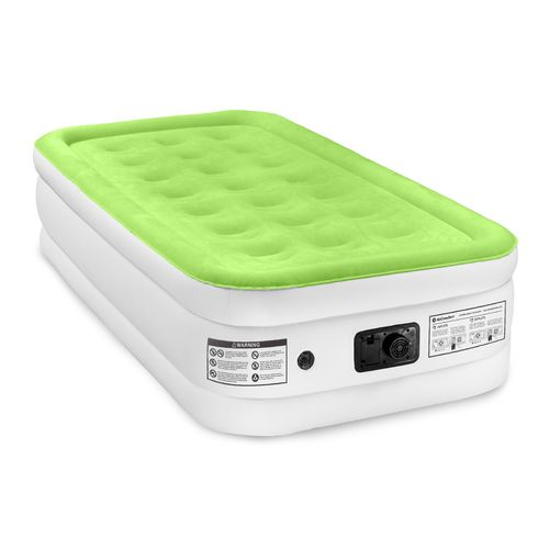 Display product reviews for Air Comfort Dream Easy Twin-Size Raised Airbed with Built-In Electric Pump