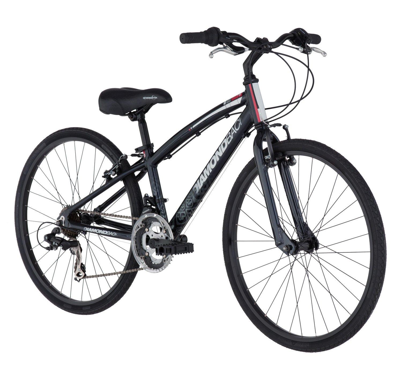 "Diamondback Boys' Insight 24"" 14-Speed Hybrid Bicycle"