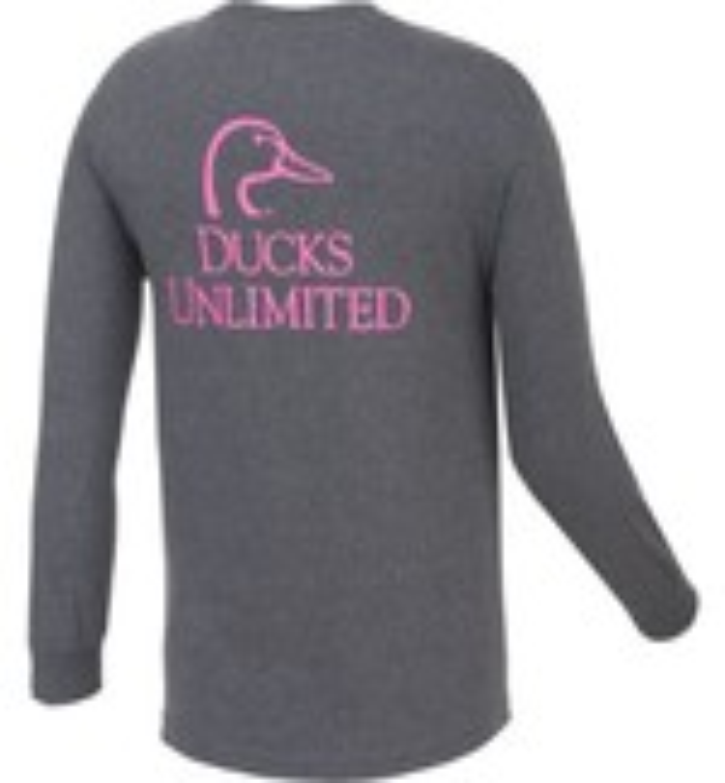 Ducks Unlimited™ Women's Logo Long Sleeve T-shirt