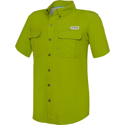 Magellan Outdoors Men's Fish Gear Laguna Madre Short Sleeve Fishing Shirt