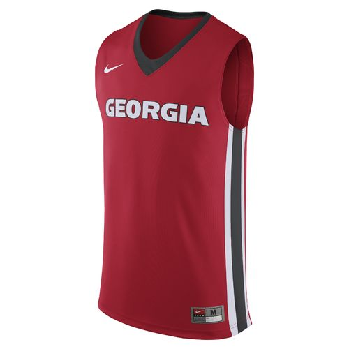 Nike Men's University of Georgia Replica Basketball Jersey