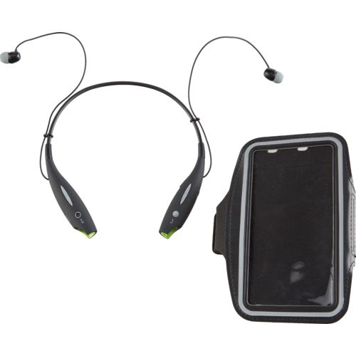 iJoy Logo Neckband and Armband Combo Set