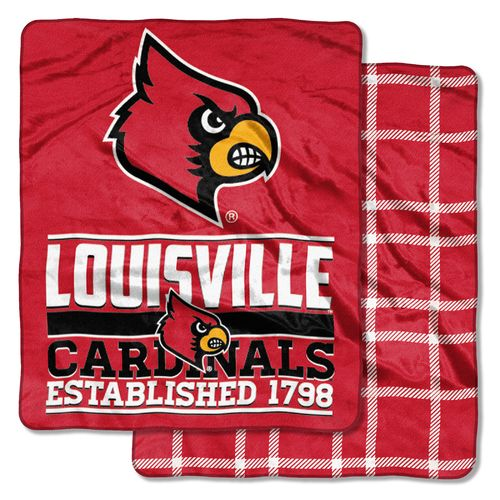 NCAA University of Louisville I Cloud Throw