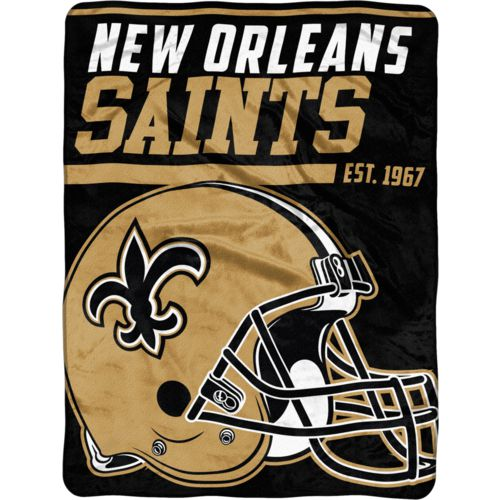 "NFL New Orleans Saints 40-Yard Dash 46"" x 60"" Micro Raschel Throw"