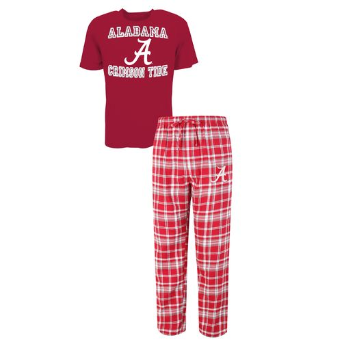 Concepts Sport™ Men's University of Alabama Tiebreaker Shirt and Pant Set
