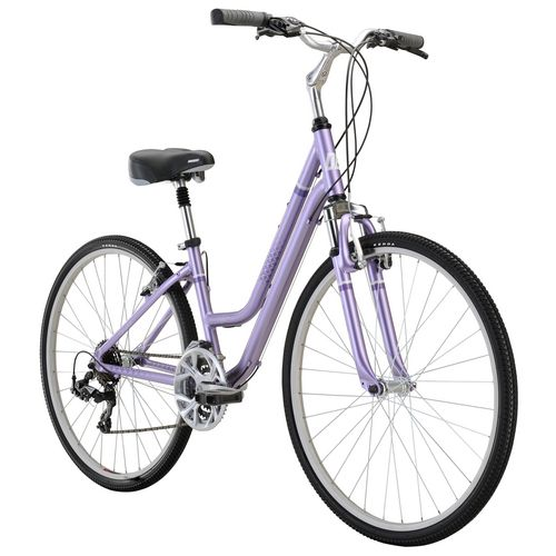 Diamondback Women's Vital 2 700c 21-Speed Comfort Hybrid Bike