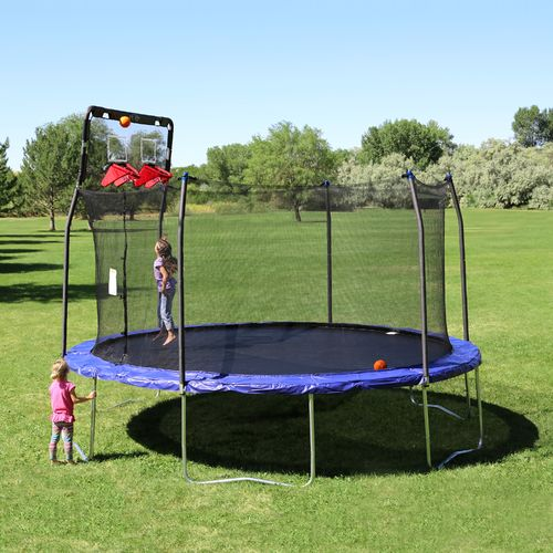 Skywalker Trampolines Double Basketball Hoop for 15' Trampolines - view number 11