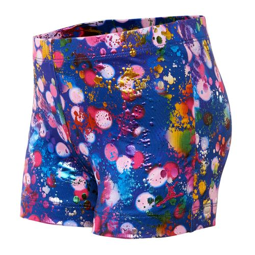 Capezio® Girls' Future Star Light Brights Printed Bike Short