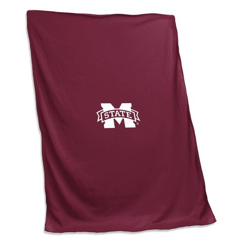Logo™ Mississippi State University Sweatshirt Blanket