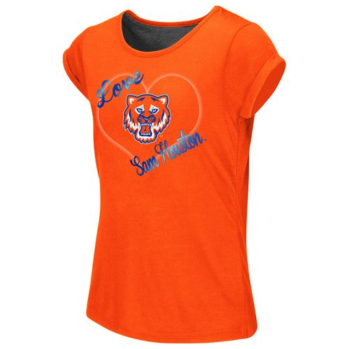 Colosseum Athletics™ Girls' Sam Houston State University Baywatch Split Back T-shirt