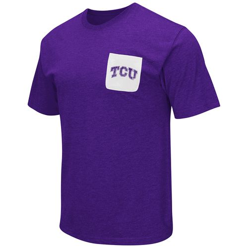 Colosseum Athletics™ Men's Texas Christian University Banya Pocket T-shirt - view number 1