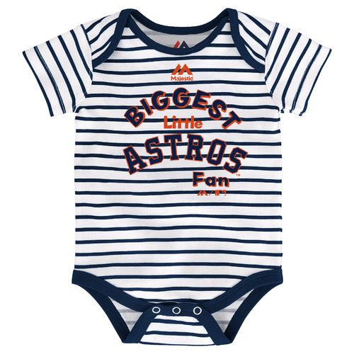 Majestic Infants' Houston Astros Home Run Onesies 3-Pack - view number 2