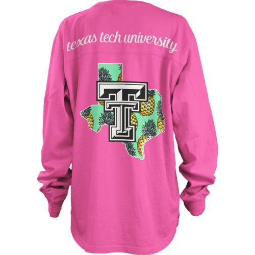 Three Squared Juniors' Texas Tech University Aloha Big Shirt