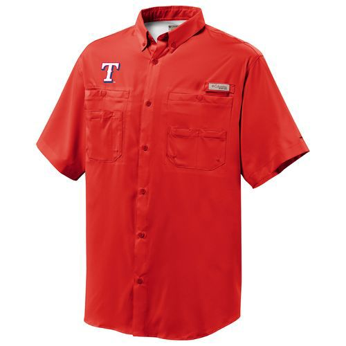 Display product reviews for Columbia Sportswear Men's Texas Rangers Tamiami Short Sleeve Shirt