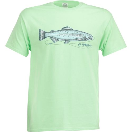 Display product reviews for Magellan Outdoors Men's Sketched Trout T-shirt