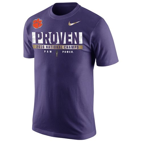 Nike Men's Clemson University 2016 National Champions Locker Room T-shirt