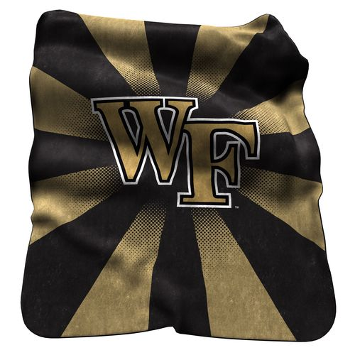 Logo Wake Forest University 50' x 60' Raschel Throw