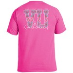 Image One Women's Vanderbilt University Ikat Letter Script T-shirt - view number 1
