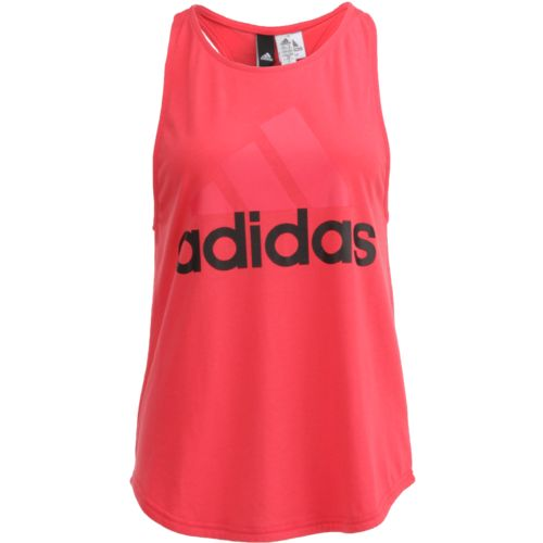 adidas™ Women's Essentials Linear Logo Loose Tank Top