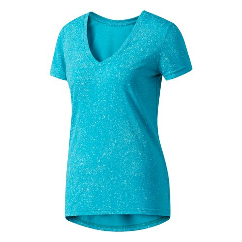 Display product reviews for adidas Women's Flecks Deep V-neck T-shirt