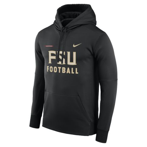 Nike Men's Florida State University Therma-FIT Pullover Hoodie