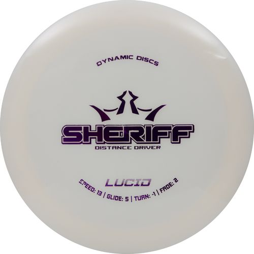 Dynamic Discs Lucid Sheriff Disc Golf Disc - view number 1
