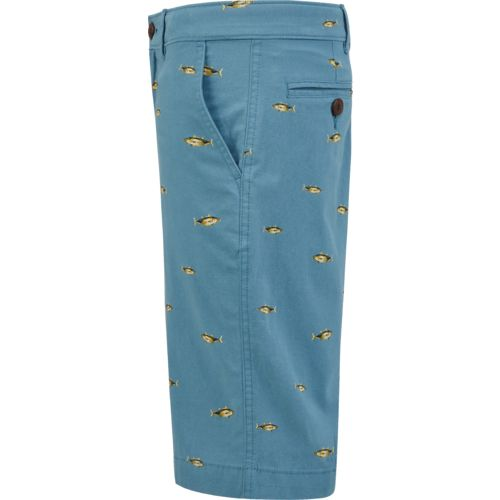 Magellan Outdoors Boys' Summerville Poplin Printed Short - view number 4