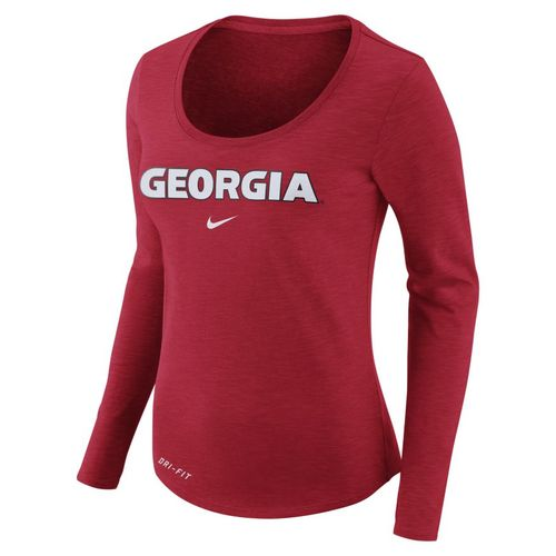 Nike™ Women's University of Georgia Dry Slub Long Sleeve T-shirt