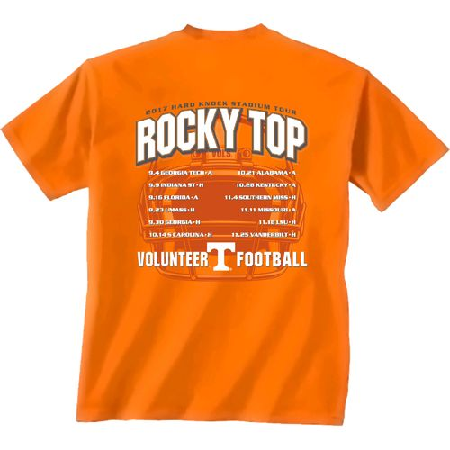 New World Graphics Men's University of Tennessee Football Schedule '17 T-shirt