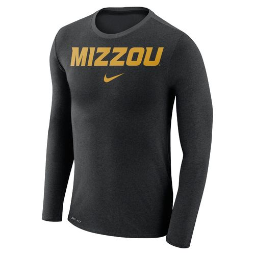 Nike™ Men's University of Missouri Dry Marled Long Sleeve T-shirt