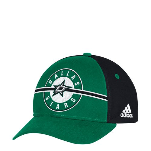 adidas Men's Dallas Stars Structured Adjustable Cap