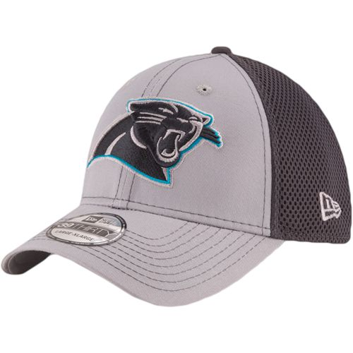 New Era Men's Carolina Panthers Grayed Out Neo 2T 39THIRTY Cap - view number 1